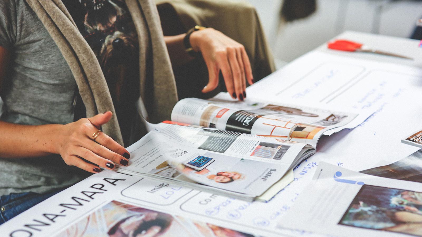 agentur weissraum grafenau ausbildungsplatz Mediengestalter magazine print